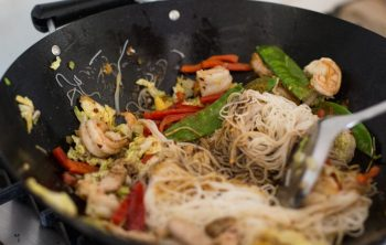 Pork Prawn Singapore Noodles
