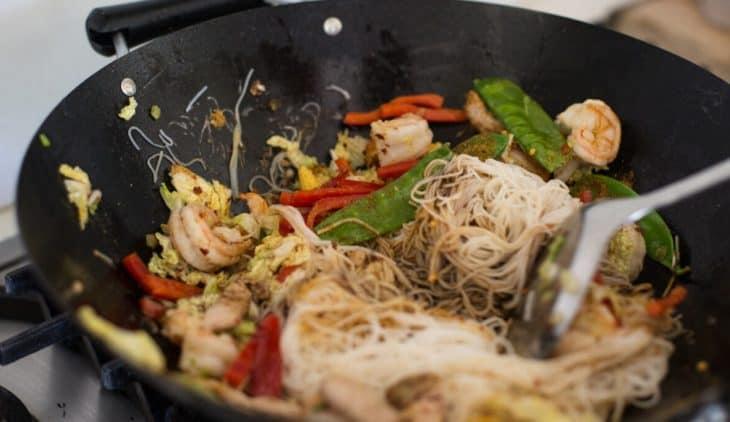 Pork Prawn Singapore Noodles