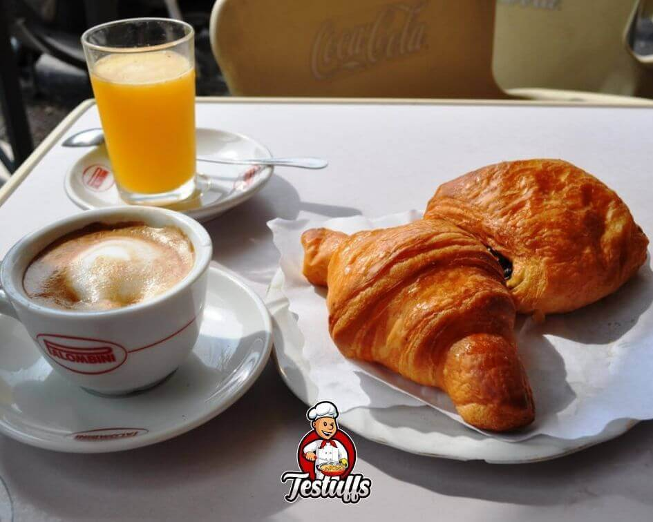 traditional italian breakfast