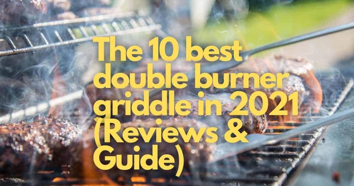 best double burner griddle